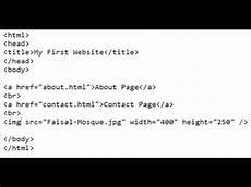 basic html code notepad youtube
