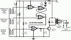 Pin Di Sekema Rangkaian Pompa Otomatis