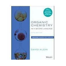 9781119493914 organic chemistry as a second language