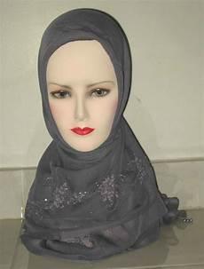 Jilbab Sulam Benang Model Terbaru Erianashop S
