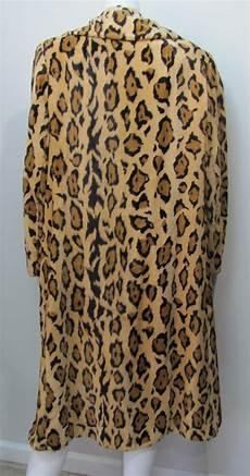jaguar fur coat 1960 s jaguar faux fur mod maxi coat wildrose