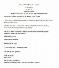 9 entry level resume templates pdf doc free