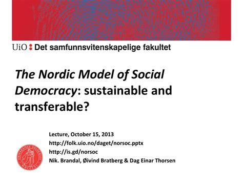 Norway Social Democracy