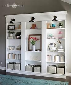 ikea hacks billy ikea billy bookcase library hack remington avenue