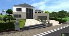 Allée De Jardin Moderne Maison Avec Garage Devant The Baltic Post