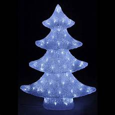 sapin lumineux led ch 228 tel blanc froid d 233 coration