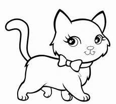Gambar Mewarnai Kucing Untuk Anak Sd Tk Dan Paud