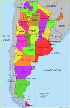 de argentina argentina map map of argentina annamap com
