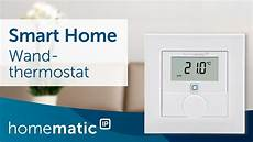 wandthermostat einfach erkl 228 rt homematic ip