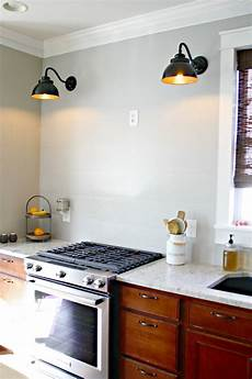 wall lights for a kitchen a diy ish vent hood from thrifty decor