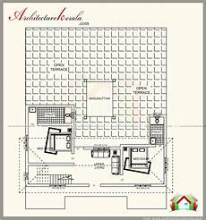 kerala model house plan and elevation traditional kerala style house plan with two elevations