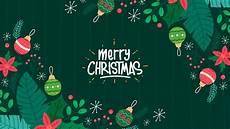 merry christmas 2019 green wallpaper hd wallpapers