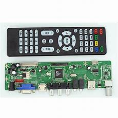 v59 lcd controller board la mv9 p with usb for playing movies pictures lcd board vantron