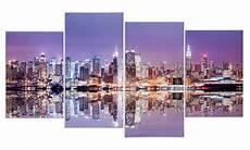 wandbild 4 teilig manhattan skyline new york usa amerika