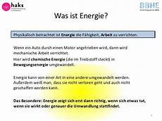was ist energie