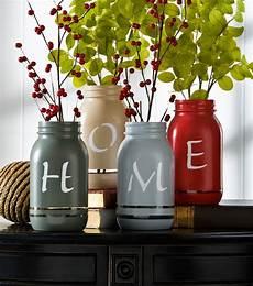 Jar Home Decor Ideas by Home Painted Jars Home Decor Ideas Diy Decor