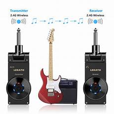 Lekato Ws 20 Wireless Guitar System Stable Signal 2