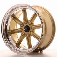 japan racing wheels jr 19 gold 17x9 zoll japan