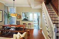 downtown row house traditional dining room other