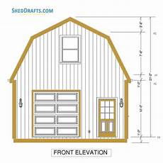 gambrel barn house plans 20 215 24 gambrel roof barn shed plans blueprints for making