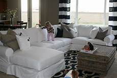 Home Decor Ideas Sofa by White Slipcovered Sectional Our Family Room Sectional