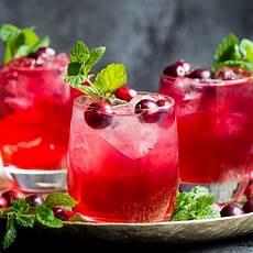 cranberry gin cocktail lauren caris cooks