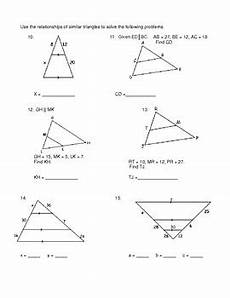 geometry unit 9 solve similar triangles and word problems worksheet