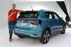 vw t cross 2018 autobild de