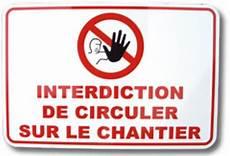 interdiction de circuler 45 86 ht