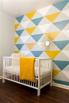 Wand Streichen Muster - give a new contemporary looks to walls with geometric wall