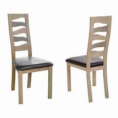 chaise de salle 224 manger vague