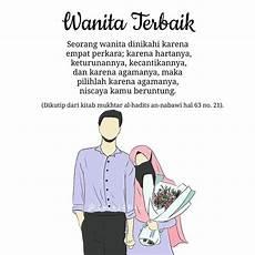 Menakjubkan 30 Gambar Kartun Muslimah Pasangan Suami Istri