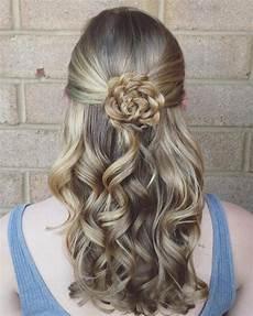 Simple Flower Hairstyles