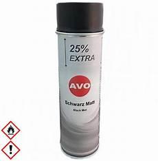 spraydose schwarz matt 500ml lackspray avo