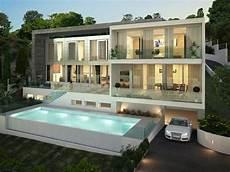 Moderne Luxusvilla Meerblick Und Pool In Santa Ponsa