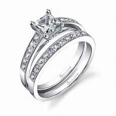 c 233 lestine princess cut solitaire engagement ring sy709