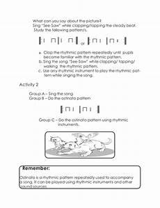 rhythmic pattern worksheet for grade 5 518 3 lm q1