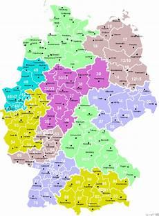 Karte Von Deutschland Postleitzahlen Deutschland