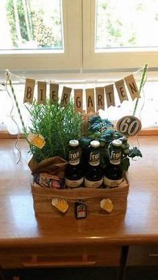 Biergarten 60 Geburtstag Geschenk Basteln Geburtstag