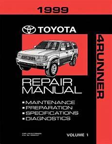 motor repair manual 1999 toyota 4runner on board diagnostic system 1999 toyota 4runner oem repair manual rm663u