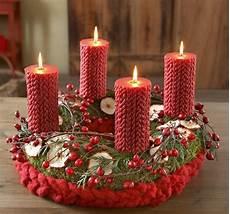 adventskranz basteln rot gold weihnachten in deutschland