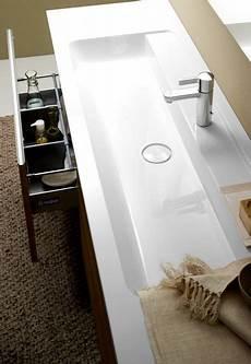 badmöbel 2 waschbecken produktdesign burgbad bel waschtisch mineralguss