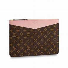 daily pouch monogram small leather goods louis vuitton