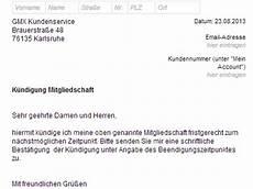 wohnungskündigung per mail gmx topmail k 252 ndigen vorlage chip