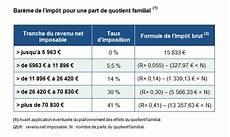 calculer les impots 2017 tableau imposition revenu 2011