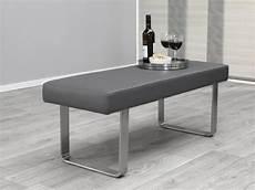 Sitzbank Modern Grau Gepolstert Edelstahl Sonderpreis Ebay