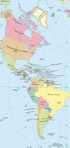 Diercke Weltatlas Kartenansicht Amerika Politische