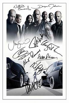 fast furious 8 affiche fast and furious 8 cast x10 signed photo print autograph