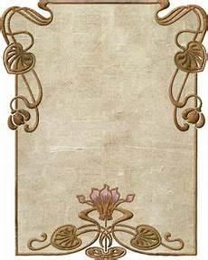 Jugendstil Malvorlagen Vintage Einfache Florale Ornamente Im Jugendstil Vinyl Ready