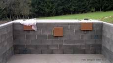 swimmingpool selber mauern tipps pool mit schalsteinen selber mauern pool selber bauen de